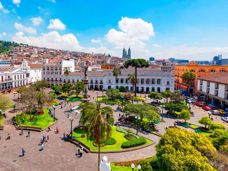 Quito-praça