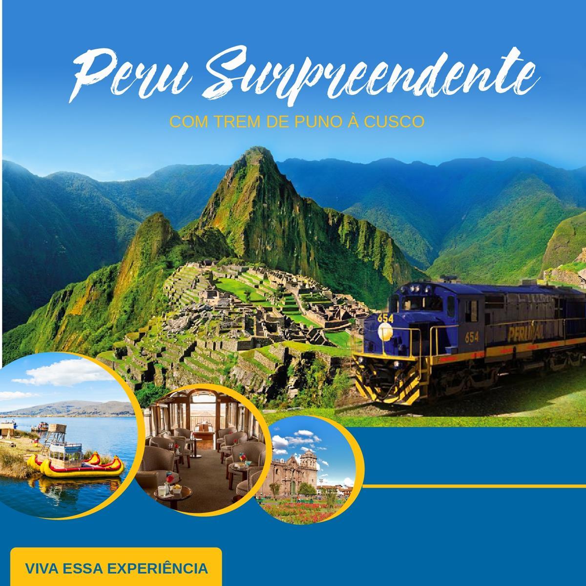 Peru Magnífico – Cusco com Machu Picchu